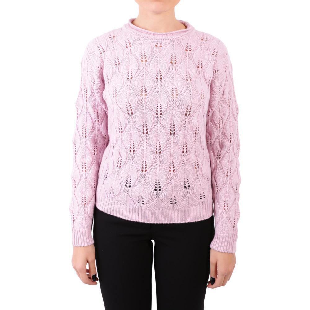 Blugirl Colore Misto Cod Pullover Pastel Donna Lana Pink In 4045 vOwnn7d