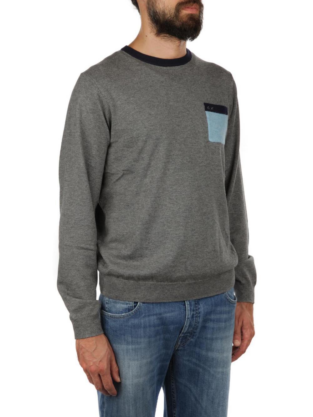 pullover-in-lana-e-cotone-uomo-sun68-cod-k28127
