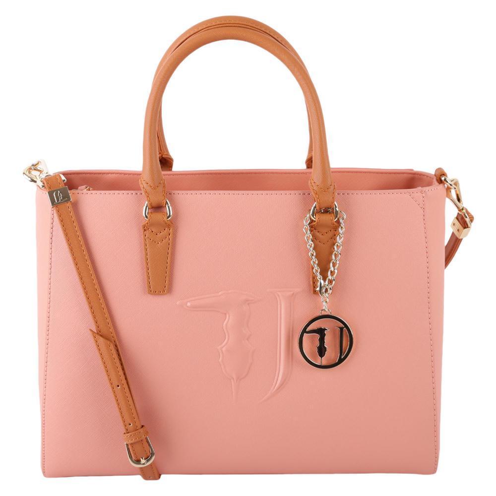 a Donna Colore Mano Ecopelle 75B00000 in TRUSSARDI cod Borsa Pink Ischia dwU5qxdX
