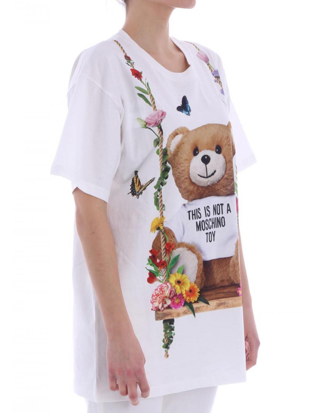 t-shirt-moschino-in-cotone-donna-moschino-cod-v0705